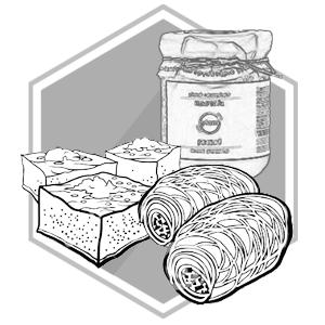 Griekse lekkernijen en zoetwaren